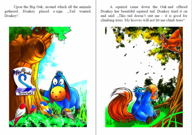 How Donkey Was Picking His Tail ebook preview1